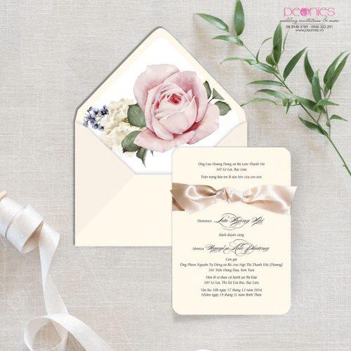 thiệp cưới cao cấp pink blur 02