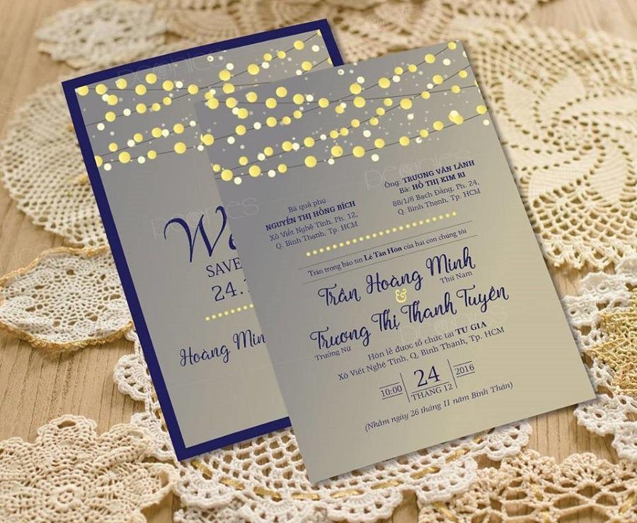 Kết quả hình ảnh cho Thiệp cưới ép kim vàng