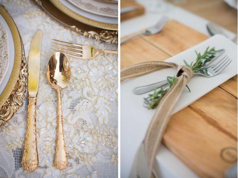 trang trí tiệc cưới phong cách vintage 12